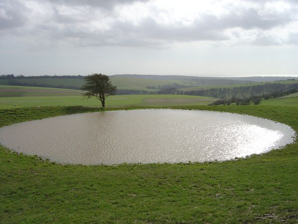 Temperate Climate Permaculture Dew Ponds Or Dieu Ponds