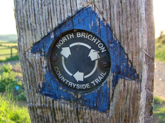 04.06.12 North Brighton Countryside Trail sign