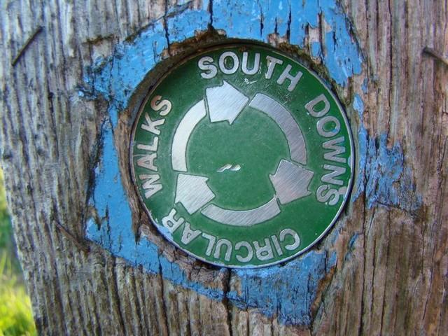 04.06.12 South Downs Circular Walks sign