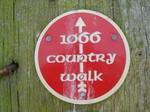 1066 trail sign nr Herstmonceux