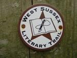 West Sussex Literary Trail nr Bignor