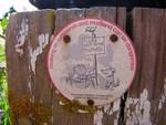 Saltflats sign, Thorney Island