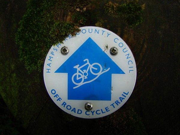Hampshire off road cycle trail