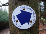 National Trust Long Walk sign