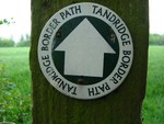 Tandridge Border Path sign