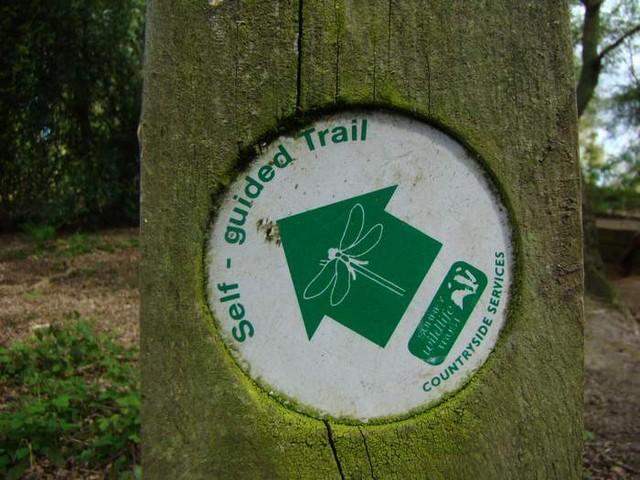 Self guided trail