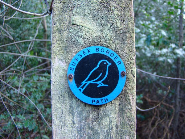 Sussex Border path sign