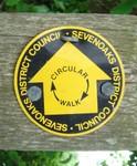 Sevenoaks County Council sign, nr Penshurst