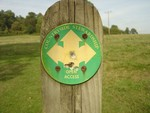 Country Stewardship sign nr Wierwood reservoir.