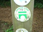Downs Link sign nr Godalming