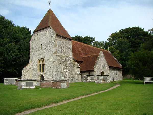 All Saints, West Dean
