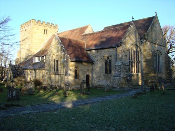 Withyham church