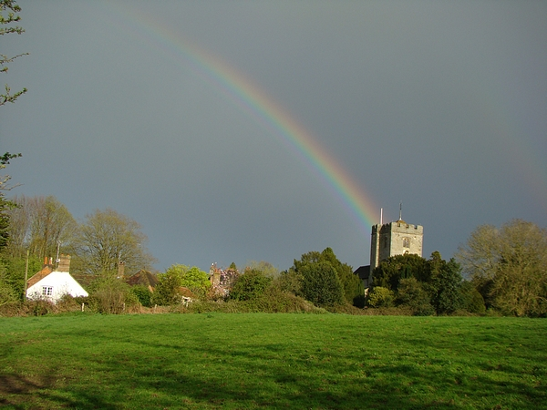 Rainbow at Pulborough